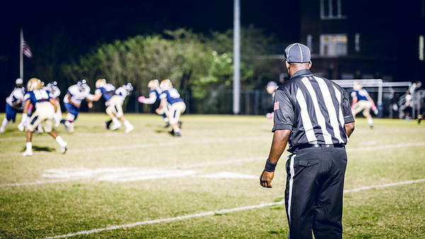 Ref'g at Lusher's Homecoming Game