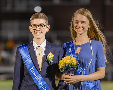 Colin on Homecoming Court