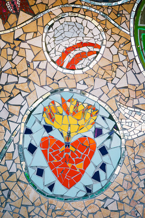 Mosaic On Clouet Street