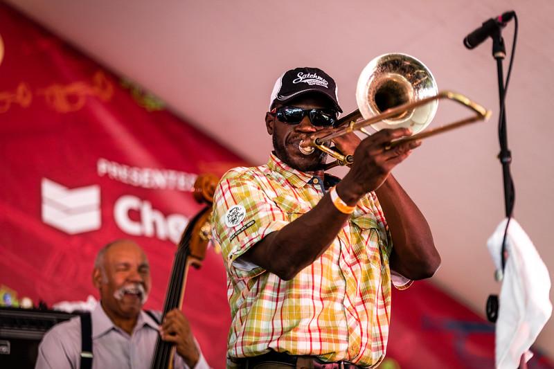 Joe Lastie's New Orleans Sound featuring Kid Merv.