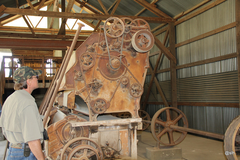 """1st 5 pics are from inside the Gin House. Would have liked to have seen some """"cotton ginning"""" in action. but the equipment was pretty cool"""