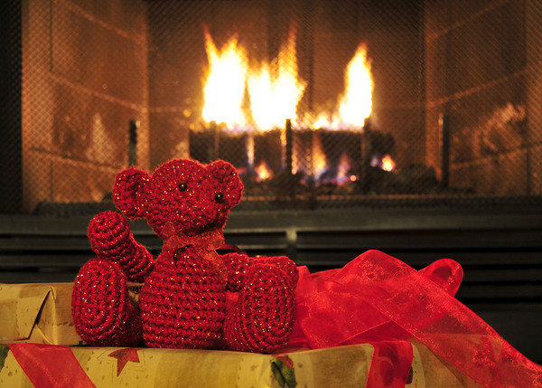 Bears Roasting by an Open Fire<br /> (-17 degrees outside on December 14!)