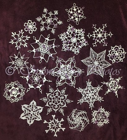 I Realized If Could Make 50 7 Pointed Snowflakes In 10 Days For My Parents Golden Anniversary 20 6 14