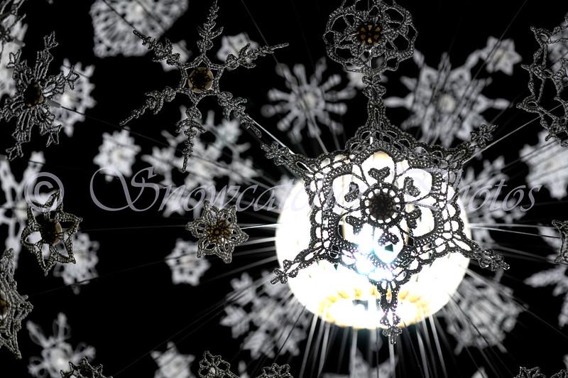 Century Snowflake on my Snowflake Lamp