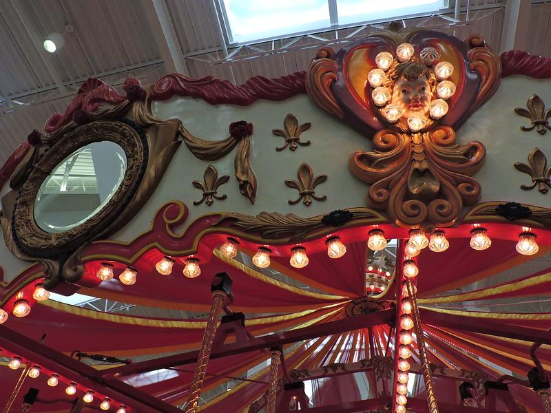 mirror, mirror, on the carousel