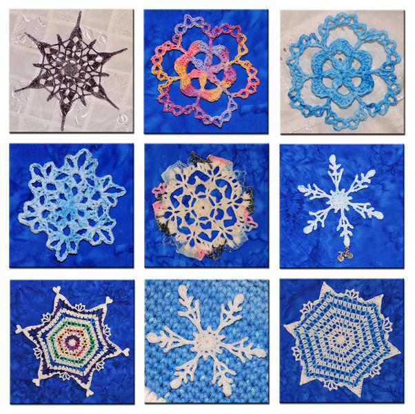 2014 Ravellenic Snowflakes