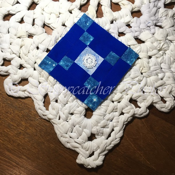 Pennsylvania Block and Keystone Snowflake