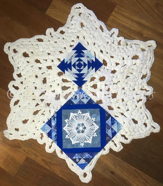 A Tropical Snowflake Theme