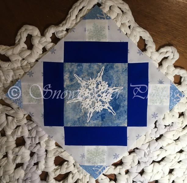 Roman Cross Adaptation with Sangre Snowflake