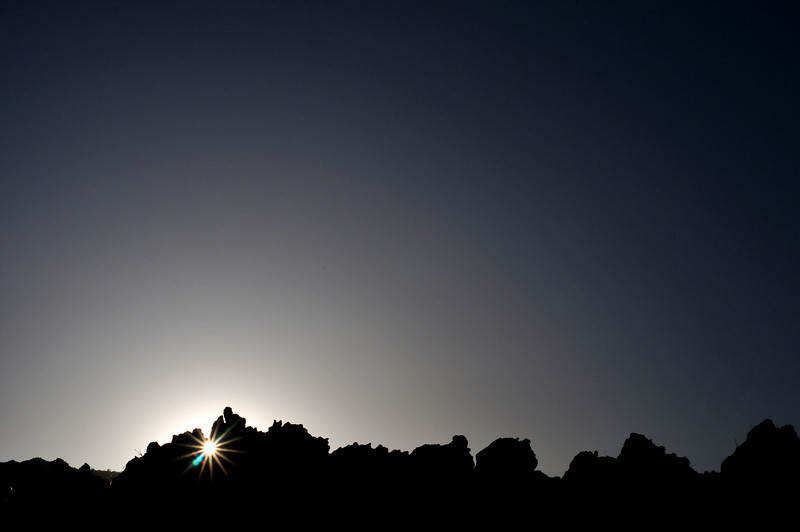 Mock Sunset at Snow Canyon State Park