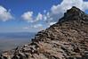 A marmot near the false summit of Humboldt.