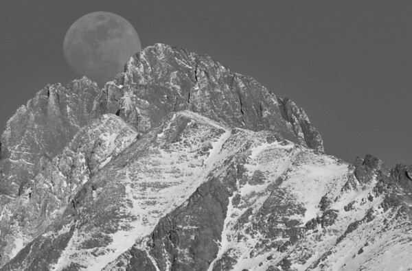 Cradled Moon<br /> <br /> DSS#20 - Chaos or Serenity - Exclusive Black & White Challenge