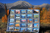 My 14er Quilt in front of 14er Mount Princeton