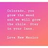 I do love New Mexico!