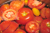 Tomatoes for Dyeing, then for Sauce