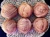 avocado-dyed wool