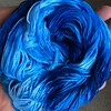hand-dyed crochet thread