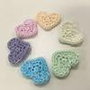 pastel heart motifs