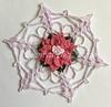 Pink Delphinium Snowflake