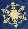 White Delphinium Snowflake