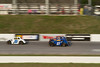 Houston Motorsports Park<br /> July 21, 2012<br /> Class: Legends<br /> Driver: Baiden Heskett (23), Unknown (27)