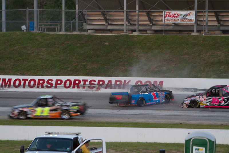 Houston Motorsports Park<br /> July 21, 2012<br /> Class: NASCAR BWFS 360 Trucks<br /> Driver: Beau Bukowski (1)
