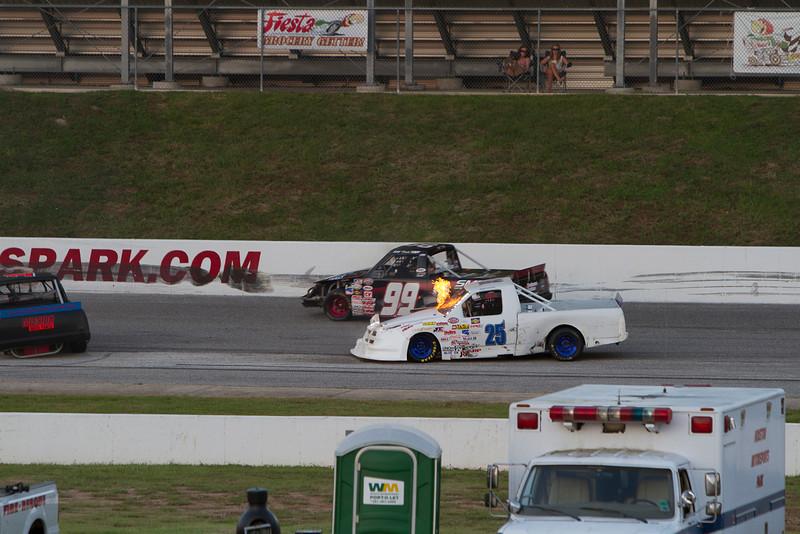 Houston Motorsports Park<br /> July 21, 2012<br /> Class: NASCAR BWFS 360 Trucks<br /> Driver: Kyle Curtis (25)