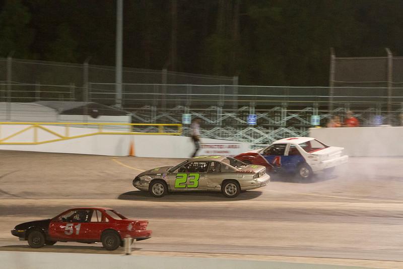 Houston Motorsports Park<br /> July 21, 2012<br /> Class: Ecostocks<br /> Driver: Ed Nastasi (51), Jimmy Braham (23), Robert Henson (4)