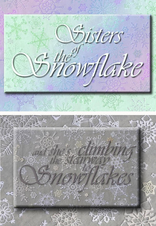 My Snowflake Greeting Cards