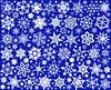 Snowcatcher Blue Spoonflower Fabric