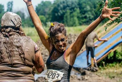 Lake Eerie Zombie Mud Run 2014