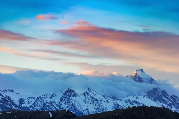 Grand Teton Peak, March 2017