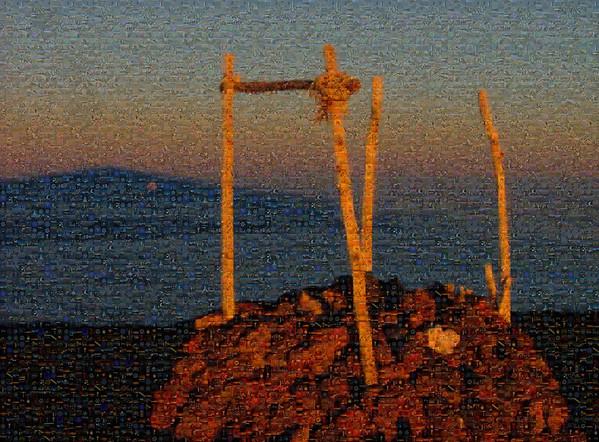 Full Moonrise in the shadow of Mauna Kea