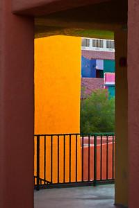 "La Placita passage, Tucson, AZ. Canvas print available, with gallery wrap mounting, 18""x24""."