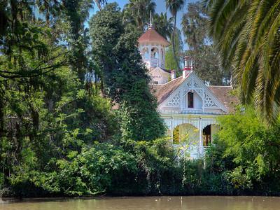 Victorian cottage, L.A. Arboretum
