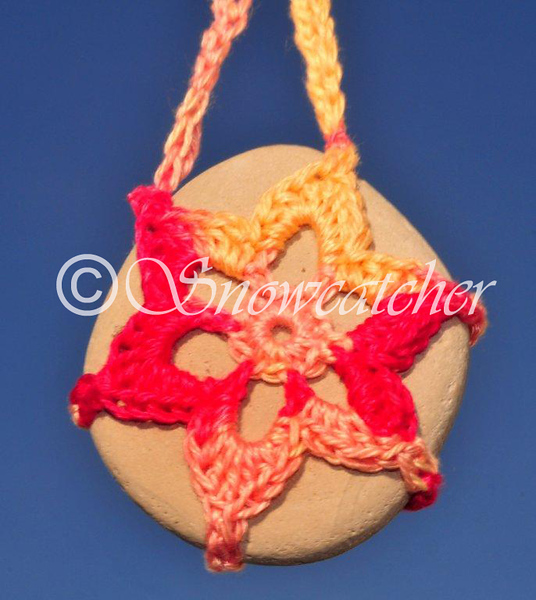 Savanna Snowflake Rock Necklace