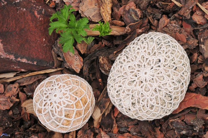 Six Zeroes Snowflake Rocks