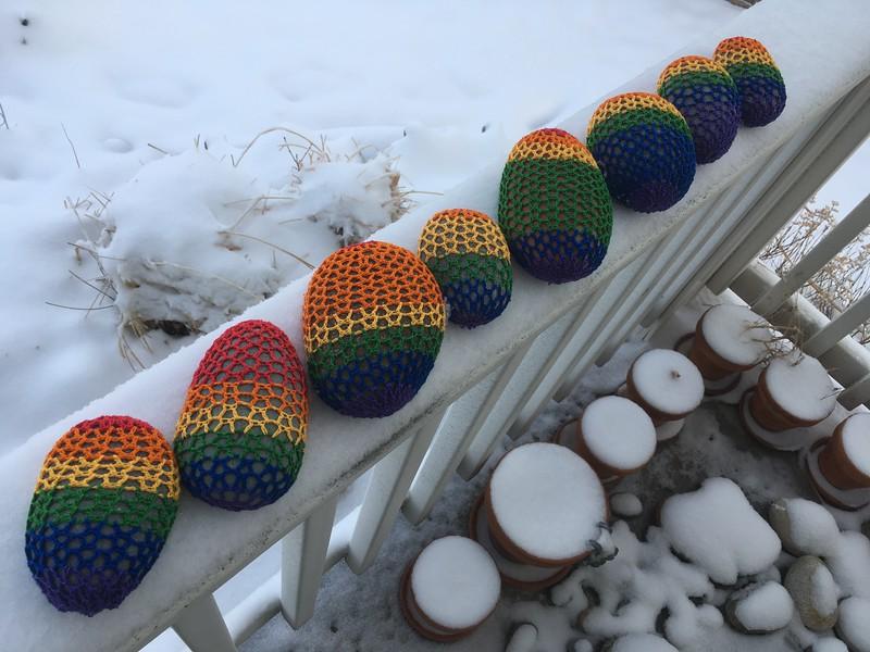 Eight Rainbows for Eight Kiddos