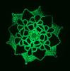 Glowing Belated Dino Egg Snowflake