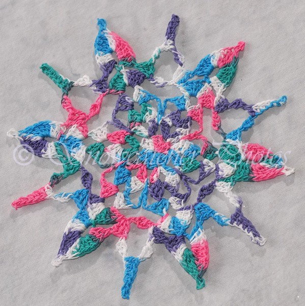 Summer Fun Snowflake