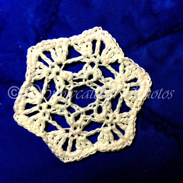 New Year's Eve Snowflake