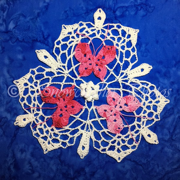 Butterfly Pyramid Snowflake
