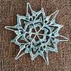 No metal snowflakes in my house!