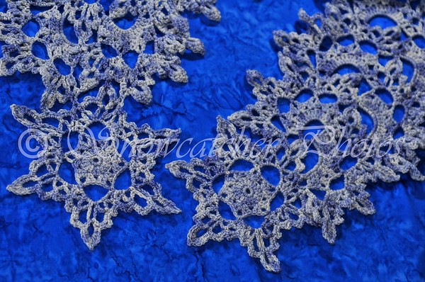 Mount Lady Washington Snowflake Scarf