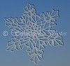 "Another snowflake against the sky with shadow...<br> <a href=""http://www.snowcatcher.net/2009/11/snowflake-monday_30.html"" target=""_blank"">Four-day Weekend Snowflake</a>"