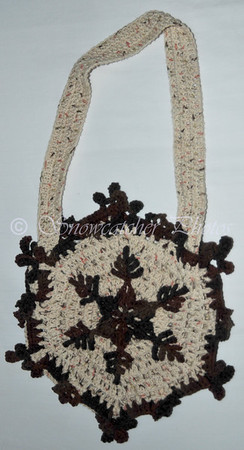Cinnamon Pass Snowflake Purse