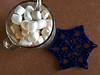 Chinook Snowflake Mug Rug