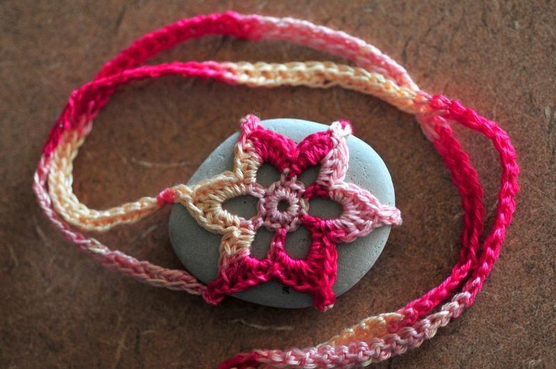 Savanna Snowflake Rock Necklace