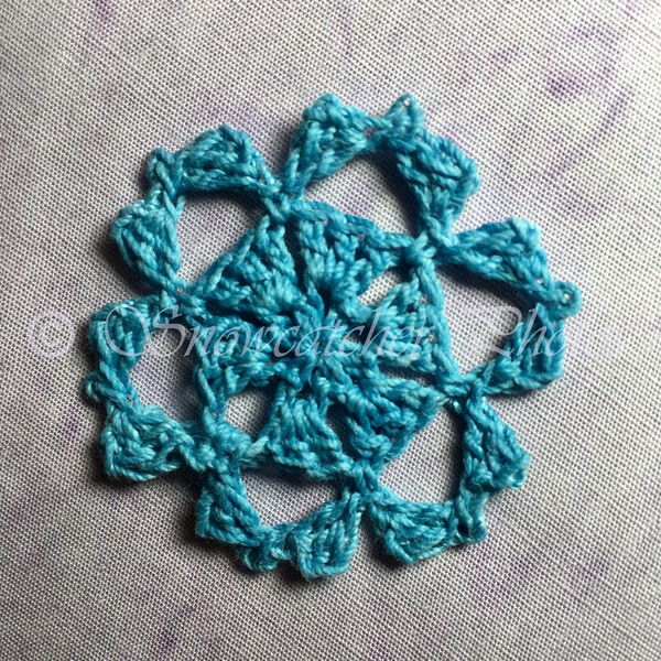 Teal Thrill Snowflake