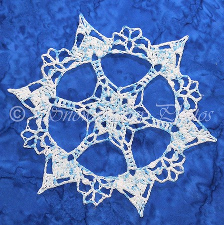Blue Lakes Snowflake